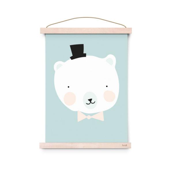 Lamina decoracion infantil – Mister Polar – Liderlamp (3)