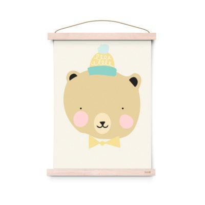 Lamina decoracion infantil - Poster - Frisky Grizzly - Liderlamp (2)