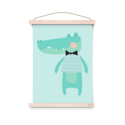 Lámina decoracíon infantil - Poster - Kroko - Liderlamp