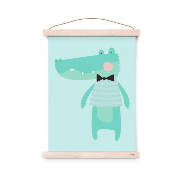 Lamina decoracion infantil – Poster – Kroko – Liderlamp (3)