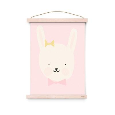 Lamina decoracion infantil - Poster - Miss Bunny- Liderlamp (3)