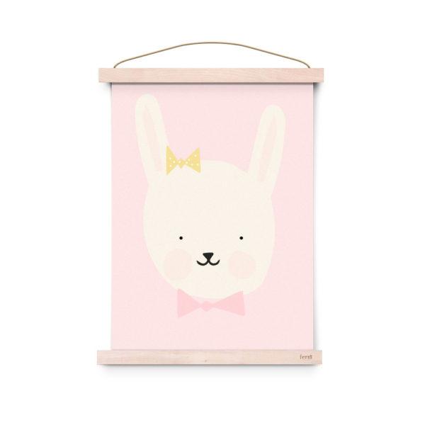 Lamina decoracion infantil – Poster – Miss Bunny- Liderlamp (3)