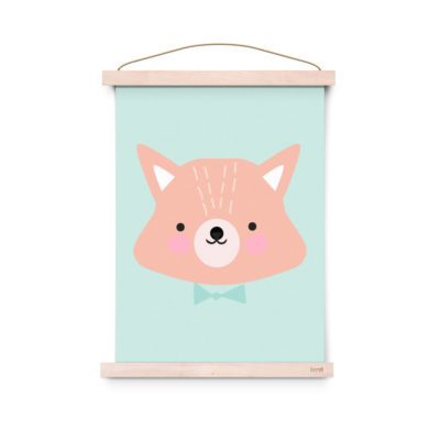 Lamina decoracion infantil - Poster - Mr. Fox - Liderlamp (2)