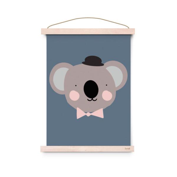 Lamina decoracion infantil – Poster – Sir Koala – Liderlamp (1)