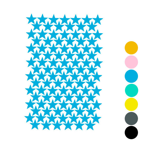 Vinilos decorativos - mini estrellitas - decoración infantil - Liderlamp (5)