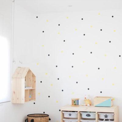 Vinilos decorativos – mini topos – decoración infantil – Liderlamp (10)