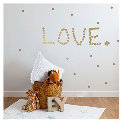 Vinilos decorativos – mini topos – decoración infantil – Liderlamp (14)