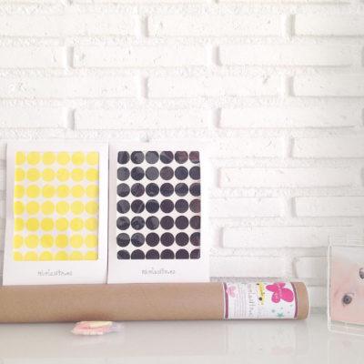 Vinilos decorativos – mini topos – decoración infantil – Liderlamp (5)