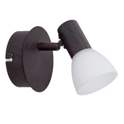 Aplique Dakar - acero en marron envejecido - Liderlamp (1)