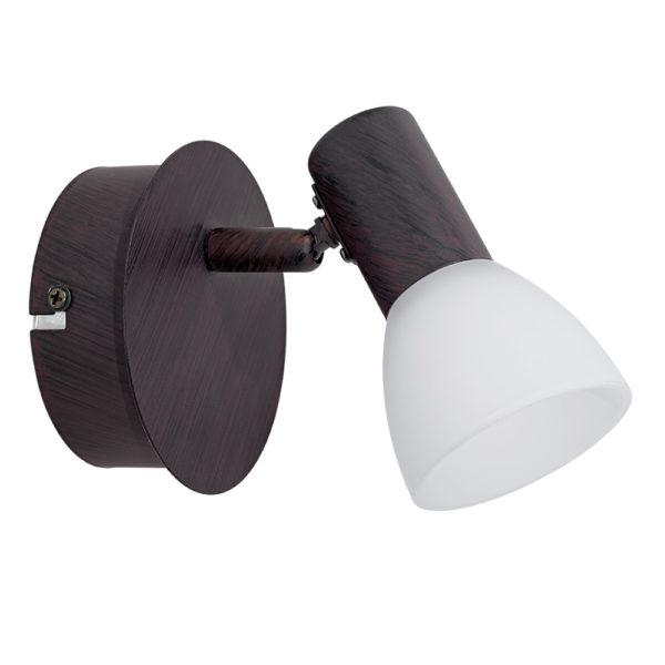 Aplique Dakar – acero en marron envejecido – Liderlamp (2)