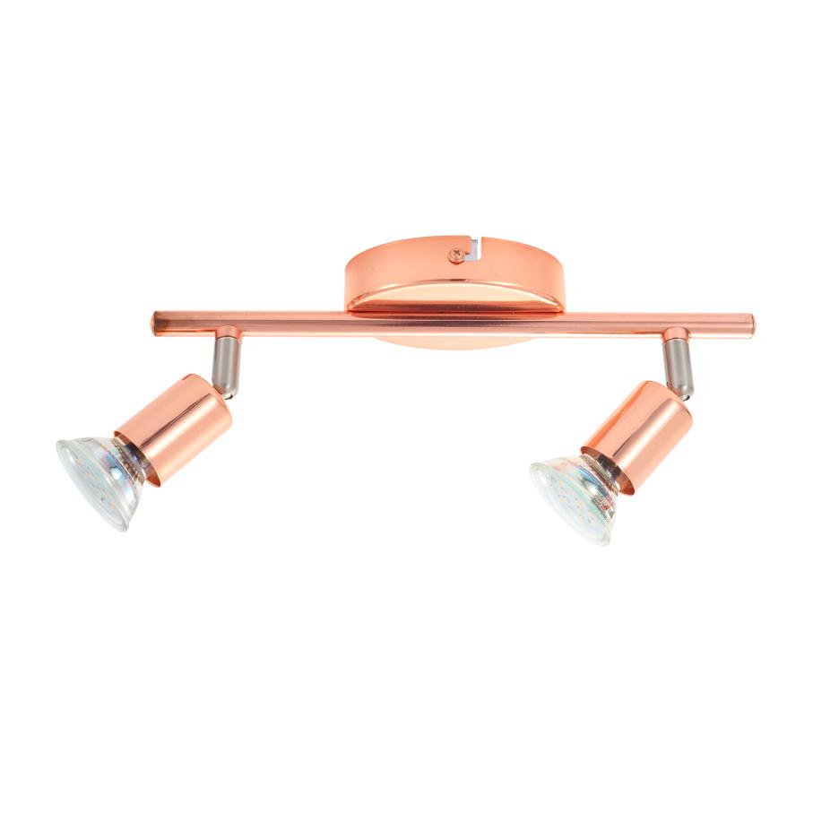 Buzz copper focos para techo y pared liderlamp - Focos empotrados techo ...
