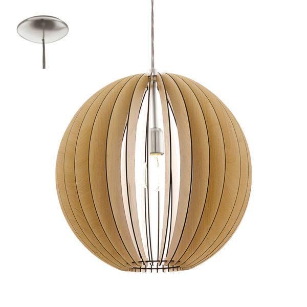 Colgante Cossano – madera natural – láminas de madera – Liderlamp (2)