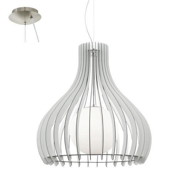 Colgante Tindori blanco – laminas de madera – Liderlamp (3)