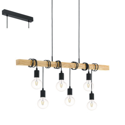 Colgante Townshend - bombillas suspendidas - Liderlamp