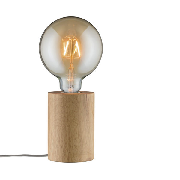 Pebetero Neordic Talin – madera – estilo nórdico – Liderlamp (1)
