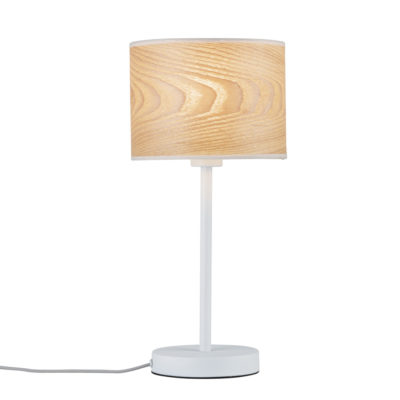Sobremesa Neordic Neta - lámpara de pie - madera - Liderlamp