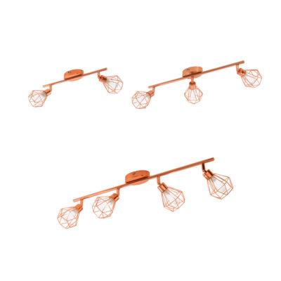 Zapata - Focos geométricos para techo y pared - Liderlamp (6)