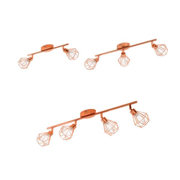 Zapata – Focos geométricos para techo y pared – Liderlamp