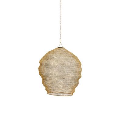 Colgante Colmena - hilo de hierro - dorado - Madam Sloltz - Liderlamp