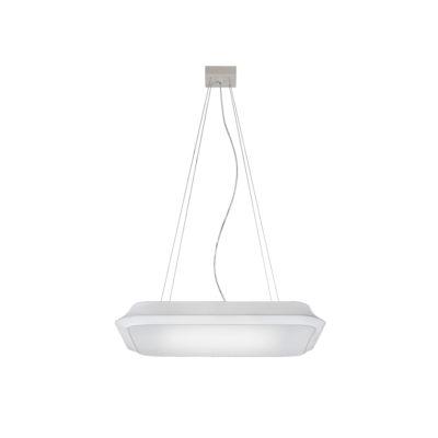 Colgante cuadrado Cloud - lámpara de techo - textil y metal - Liderlamp (1)