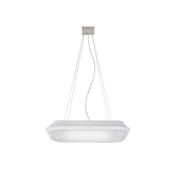 Colgante cuadrado Cloud – lámpara de techo – textil y metal – Liderlamp (1)