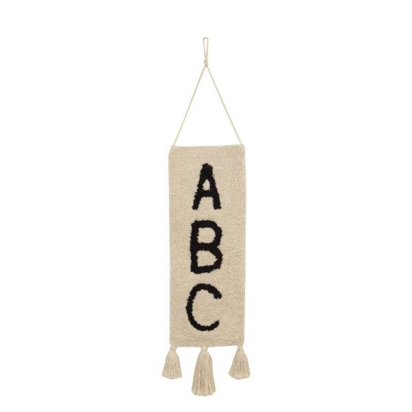 Colgante de pared – ABC – Algodon – decoracion textil – Liderlamp (7)