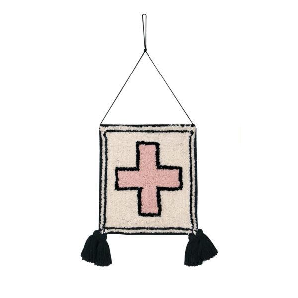 Colgante de pared – Cross – Algodon – decoracion textil – Liderlamp (1)