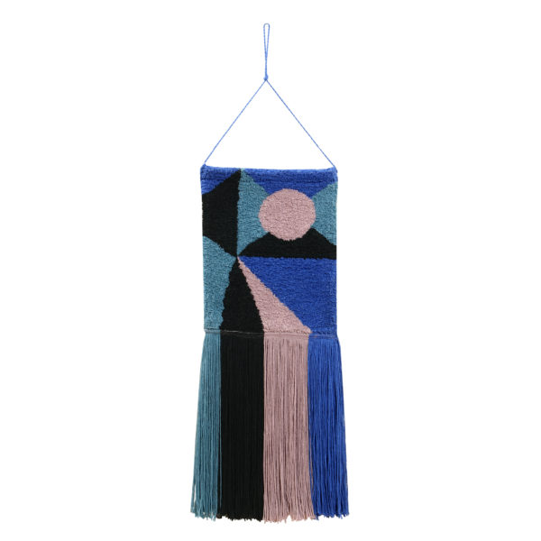 Colgante de pared – Geometric – Algodon – decoracion textil – Liderlamp (1)