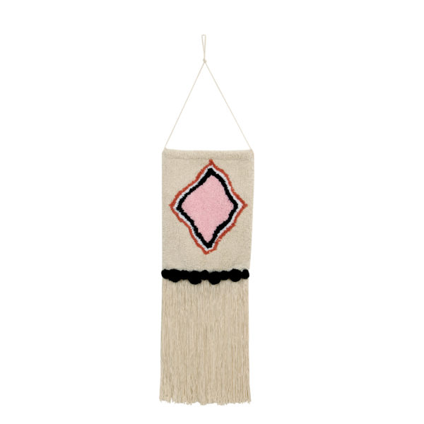 Colgante de pared – Morocco – Algodon – decoracion textil – Liderlamp (3)