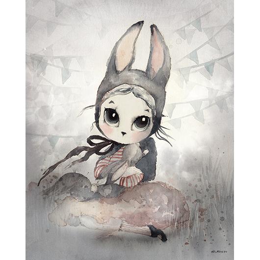 Lamina Miss Hanna – Ilustracion infantil – Mr Miguetto – Liderlamp (2)