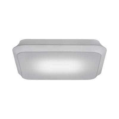 Plafón cuadrado Cloud - lámpara de techo - textil y metal - Liderlamp (2)