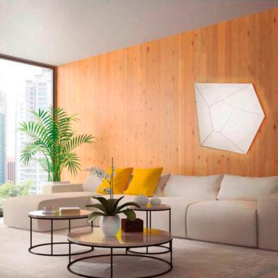 Plafon Halley – diamante asimetrico – techo y pared – Liderlamp (2)