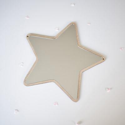Espejo acrílico - Estrella - Decoración infantil - Maseliving - Liderlamp