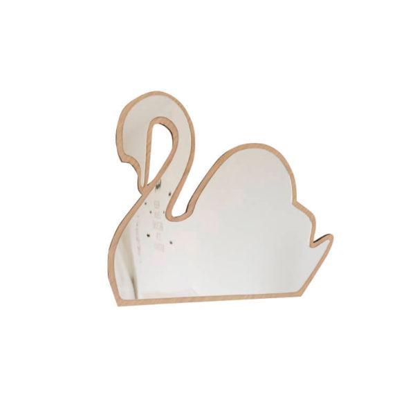 Espejo acrilico – Cisne – Decoracion infantil – Maseliving – Liderlamp (1)