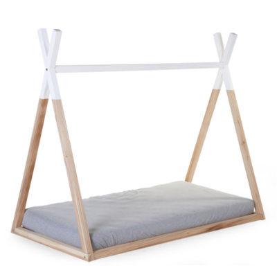 Estructura de cama tipi - habitación infantil - madera natural - Liderlamp