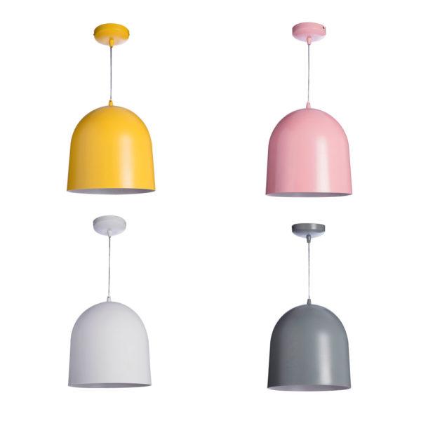 Lampara colgante Colors – metal – Lussiol – Liderlamp