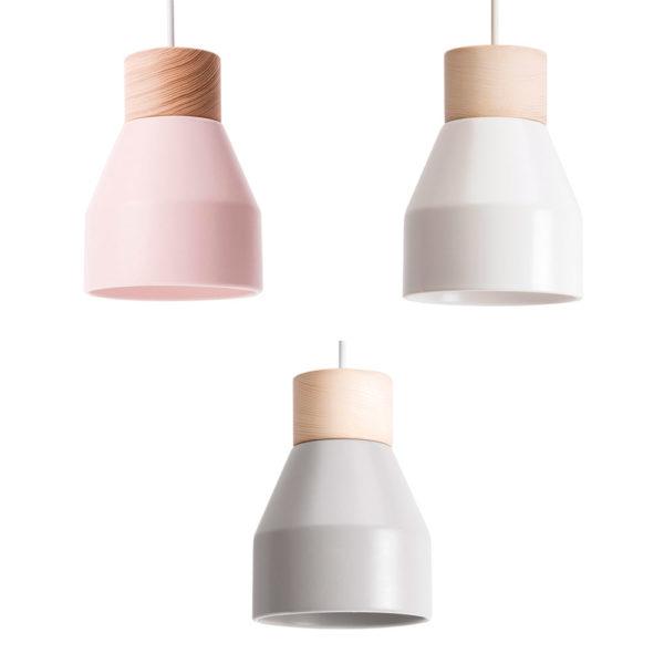 Lampara colgante Spot – metal – Lussiol – Liderlamp