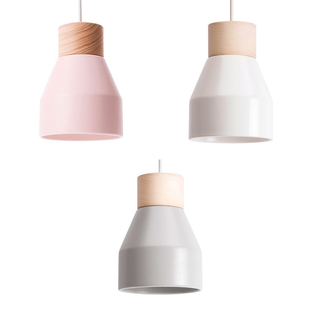 L mpara colgante spot metal lussiol liderlamp for Lamparas estilo escandinavo