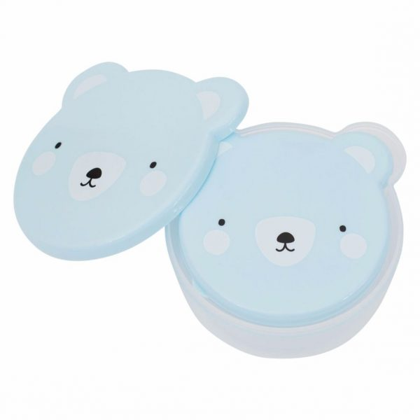 Snack box - Oso azul - A Little Lovely Company - Liderlamp