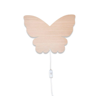 Aplique de madera - Mariposa - Decoración infantil - Maseliving - Liderlamp (2)