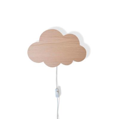 Aplique de madera - Nube - Decoración infantil - Maseliving - Liderlamp (5)