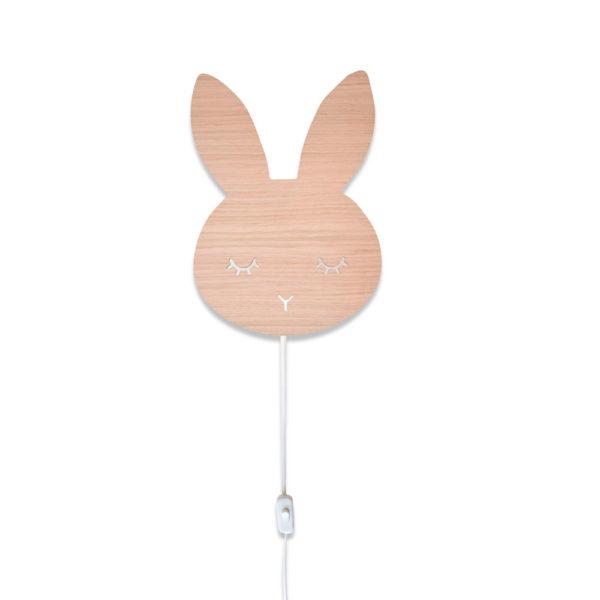 Aplique de madera – conejo – Decoración infantil – Maseliving – Liderlamp (6)