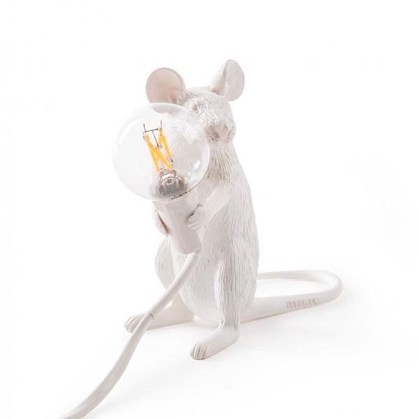 Sobremesa Mouse sentado – Seletti – Mouse Lamp – Liderlamp (3)