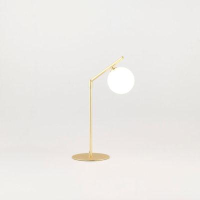 Sobremesa Endo - dorado y cromo - retro - lampara estilo mid century (3)