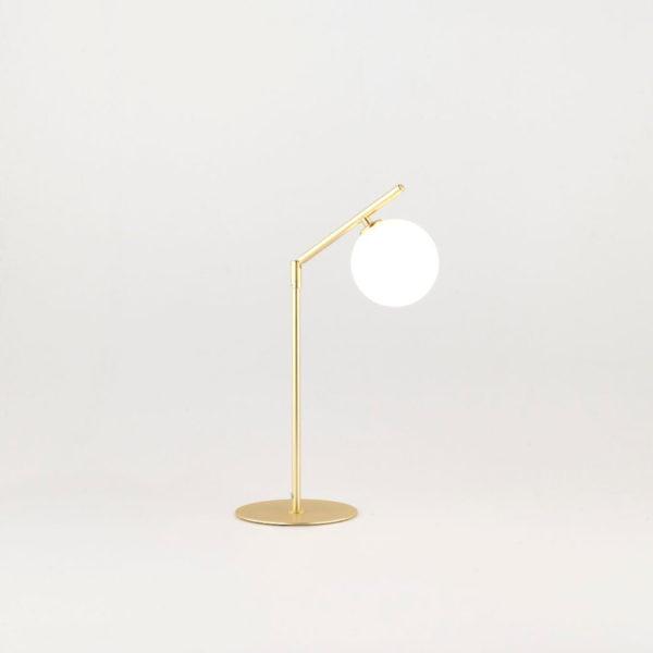 Sobremesa Endo – dorado y cromo – retro – lampara estilo mid century (3)
