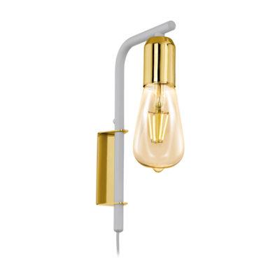Aplique Adri - lampara de pared - estilo industrial - bombilla vintage (1)