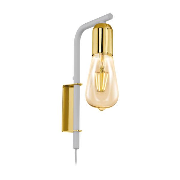 Aplique Adri – lampara de pared – estilo industrial – bombilla vintage (1)