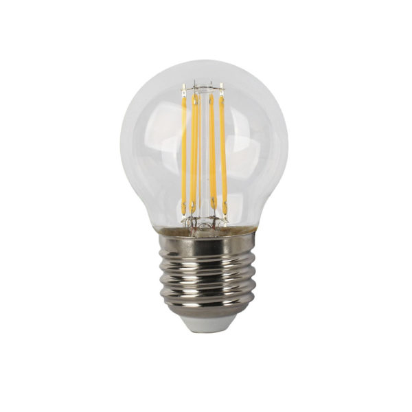 Bombilla E27 4W LED – Luz calida – 400 Lumens –