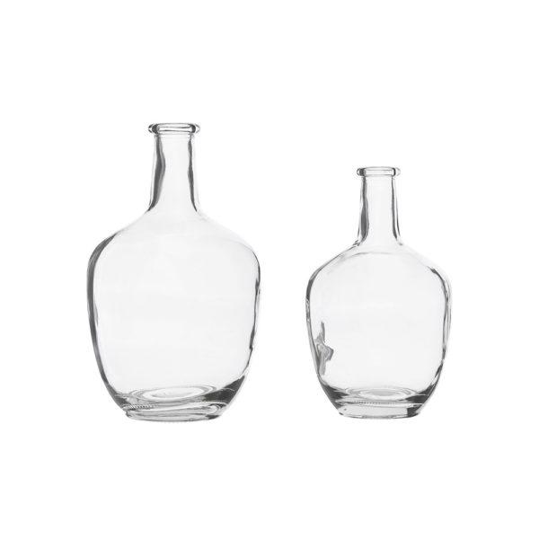 Jarrón de cristal trasparente - House Doctor - Decoración - estilo nórdico