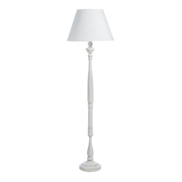 Pie de salon Countryside – Ixia – madera blanca – rustic chic – Liderlamp